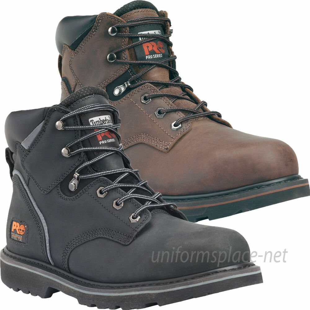 "Timberland PRO Boots Mens Pit Boss 6"" Soft or Steel Toe ..."