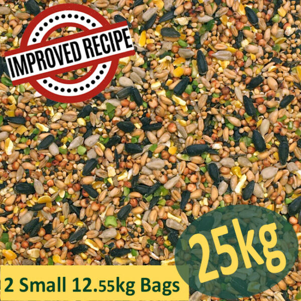 25kg Premium Wild Bird Food (All Season) - Winter - Feed - Mix - Mixture - Seed