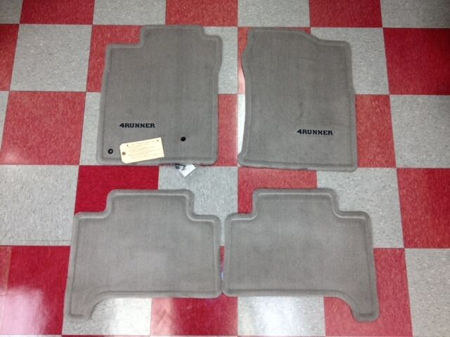 2003 2009 4runner Carpet Floor Mats Stone Gray Pt208 89030