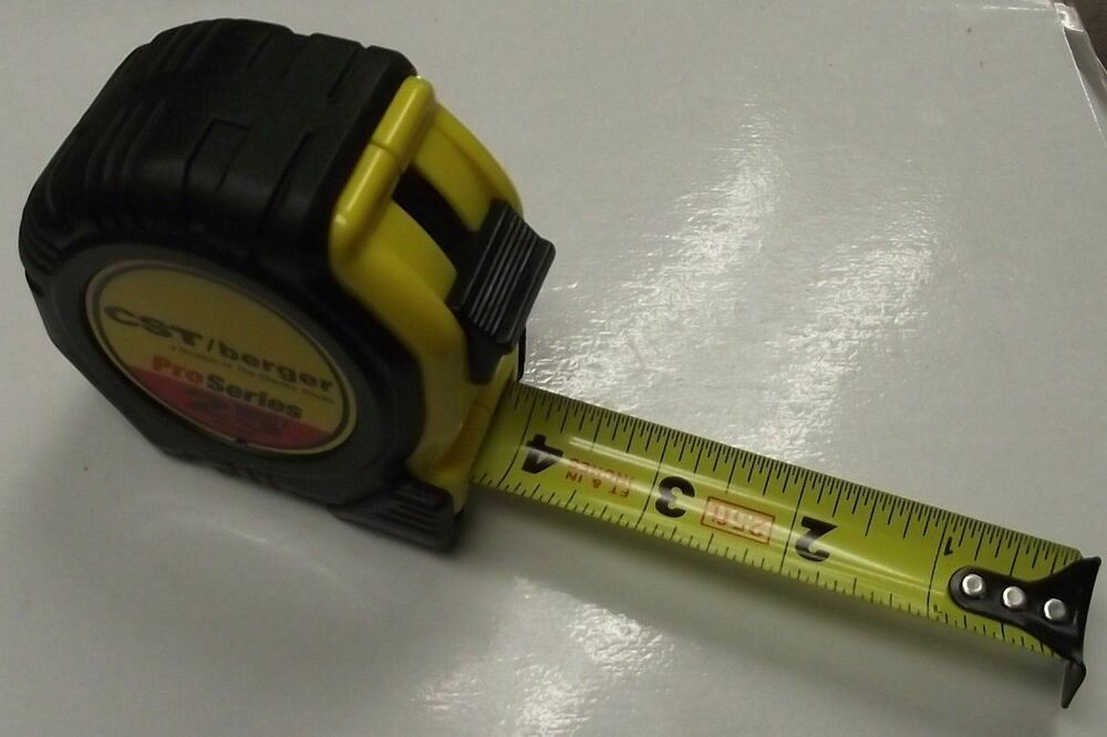 "CST/Berger 78-Y258 25' X 1"" Pro Series Tape Measure"