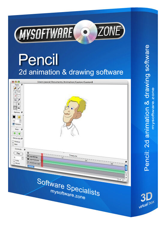 2d Animation Animate Cartoons Drawing Software Computer Program Ebay