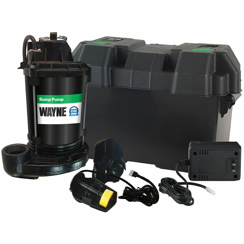 sump pump battery backup wayne esp25 battery backup sump 2300 gph 10 10345
