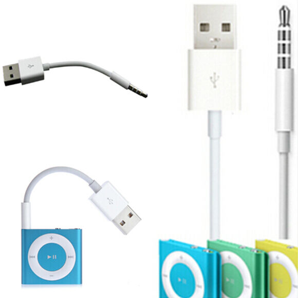 usb charger data sync cable cord for apple ipod shuffle 3 4 5 6 7 generation one ebay. Black Bedroom Furniture Sets. Home Design Ideas