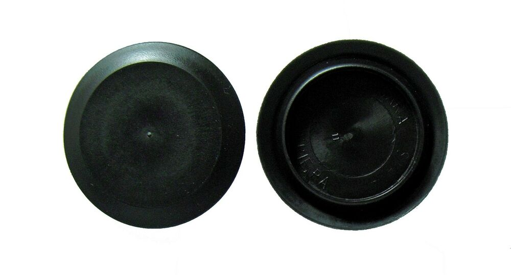 1 Quot 1 0 Inch Flush Mount Black Plastic Body And Sheet Metal