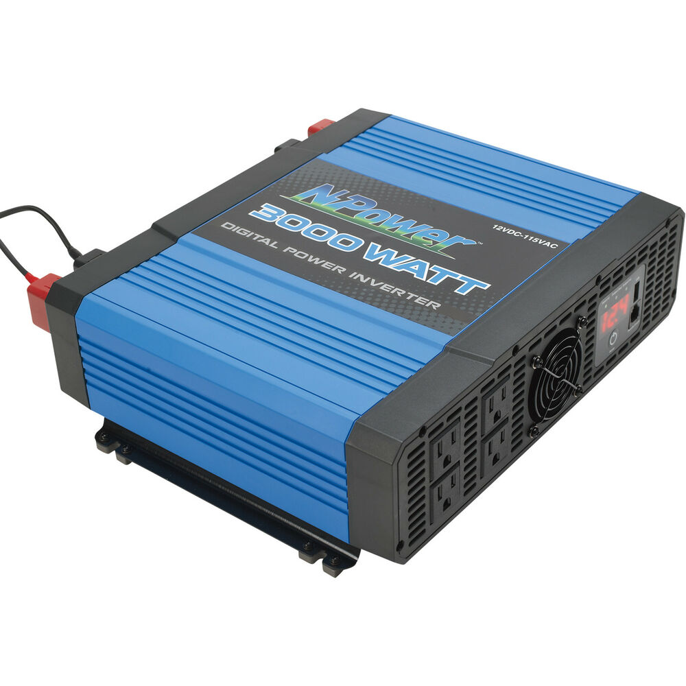 Npower Portable Digital Inverter