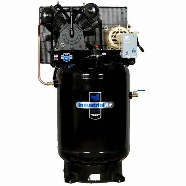 Industrial Air 10 Hp 120 Gallon Two Stage Air Compressor
