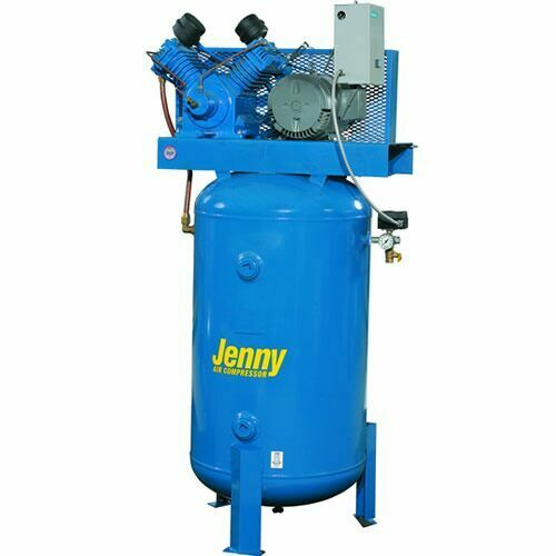 Jenny 5 Hp 80 Gallon Two Stage Air Compressor 230v 1
