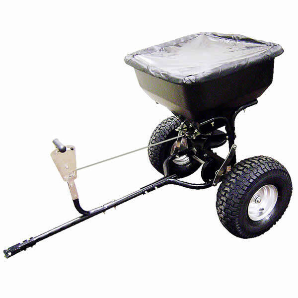 Precision Products 130 Lb Tow Behind Broadcast Spreader Ebay