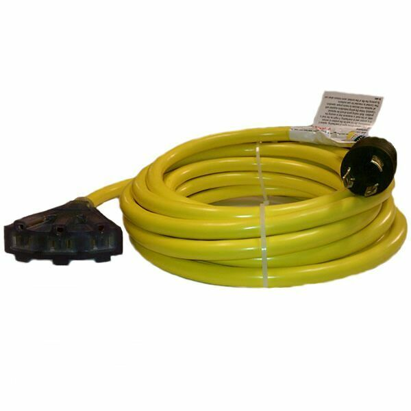 30 Amp Extension Cord >> Conntek 30-Amp (3-Prong 25-Feet) Convenience Cord w/ Power Indicator | eBay