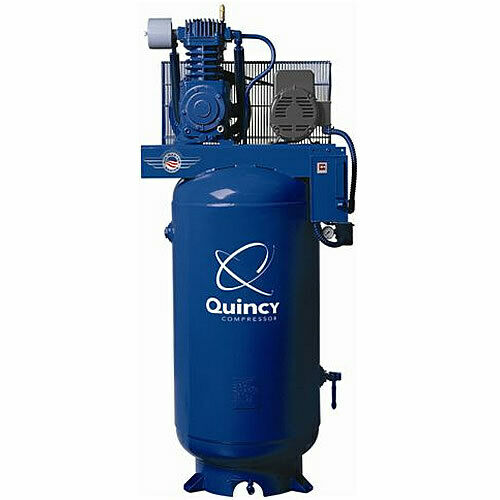 Quincy 7 5 Hp 80 Gallon Two Stage Qt Pro Air Compressor