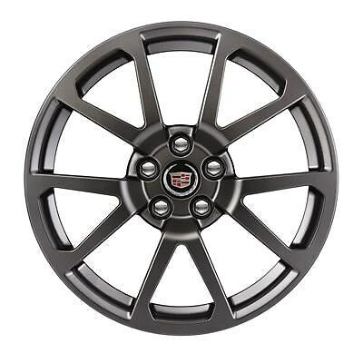 2011 2014 cadillac cts v satin graphite 19 wheel set 19x9. Black Bedroom Furniture Sets. Home Design Ideas
