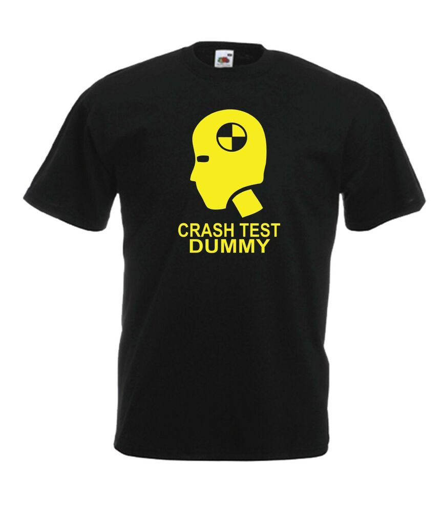 Details About CRASH TEST DUMMY Funny Car Christmas Birthday Gift Ideas Top Mens Womens T SHIRT