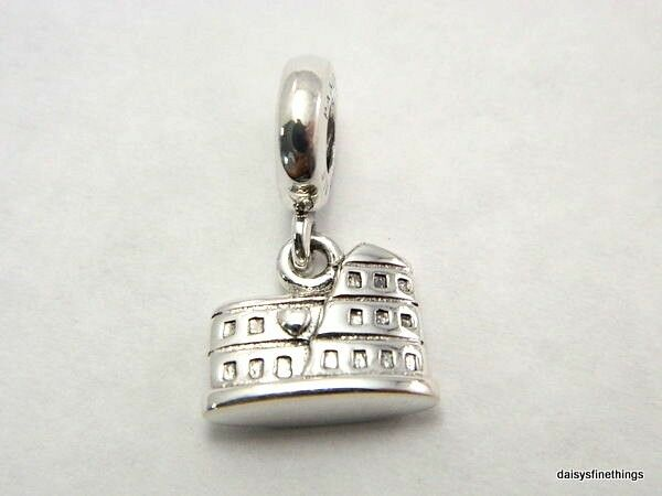 New  Authentic Pandora Charm Roman Colosseum  791079 P