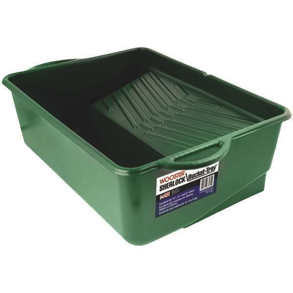 Roller Bucket Paint Tray Stain Painting Wide Roll Off Grid