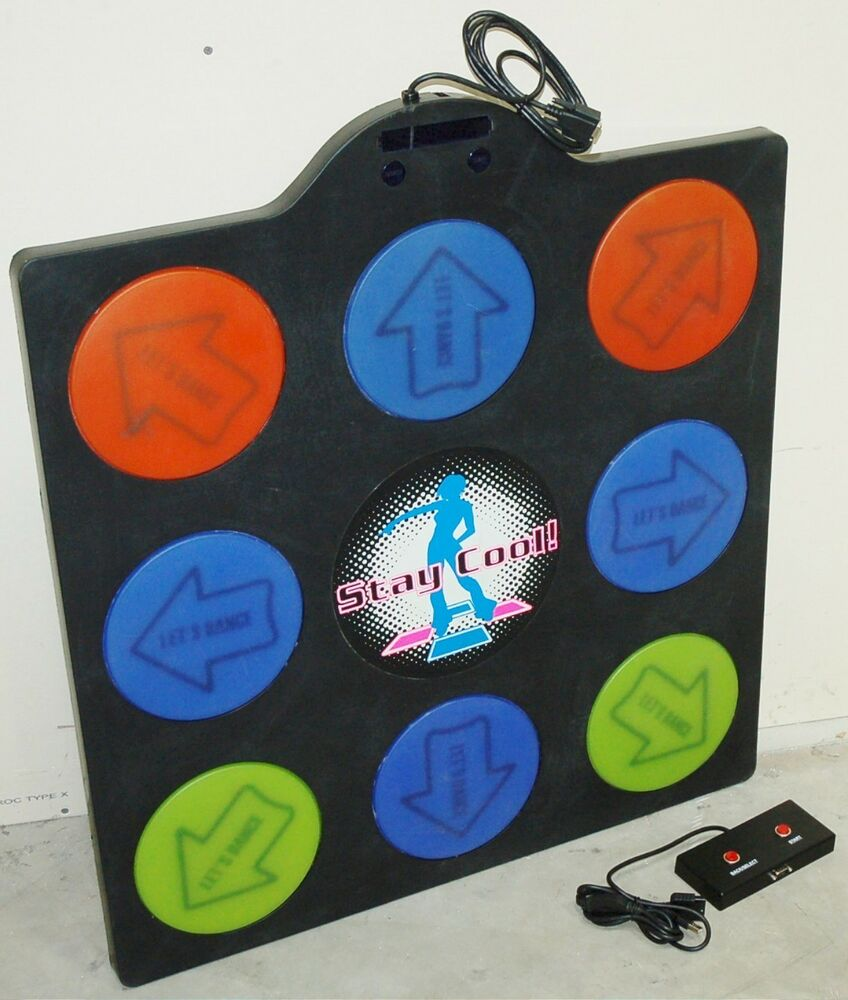 New Stay Cool Ps3 Ps2 Dance Dance Revolution Metal Pad