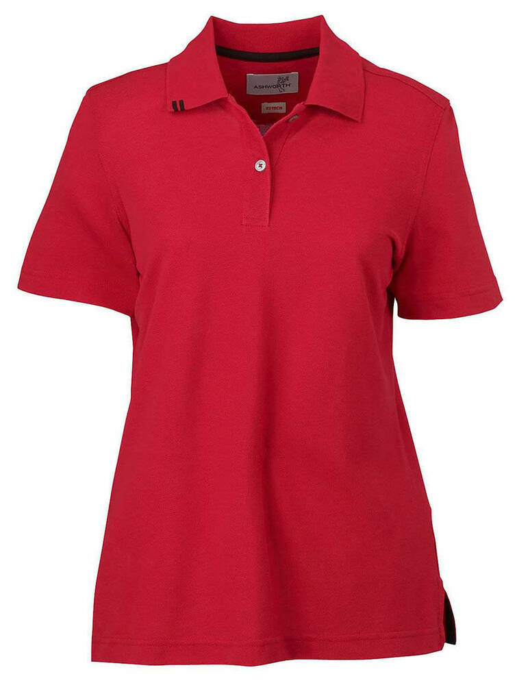 Ashworth women 39 s golf shirt 100 cotton size color choice for Woman s polo shirts