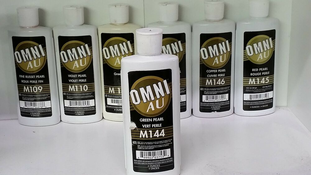 Ppg omni m144 green pearl 4 oz new ebay for Ppg automotive paint store