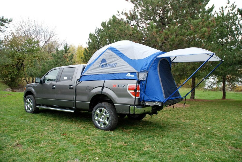 napier sportz truck tent compact short bed camping. Black Bedroom Furniture Sets. Home Design Ideas