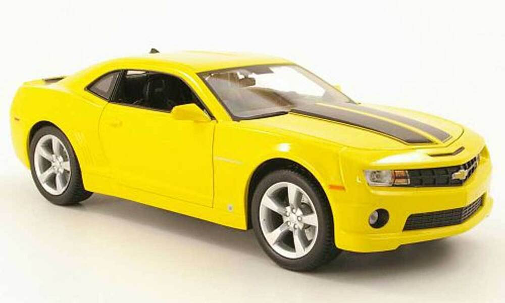 1 18 jada toys bigtime yellow 2006 camaro chevy chevrolet like bumblebee ebay. Black Bedroom Furniture Sets. Home Design Ideas