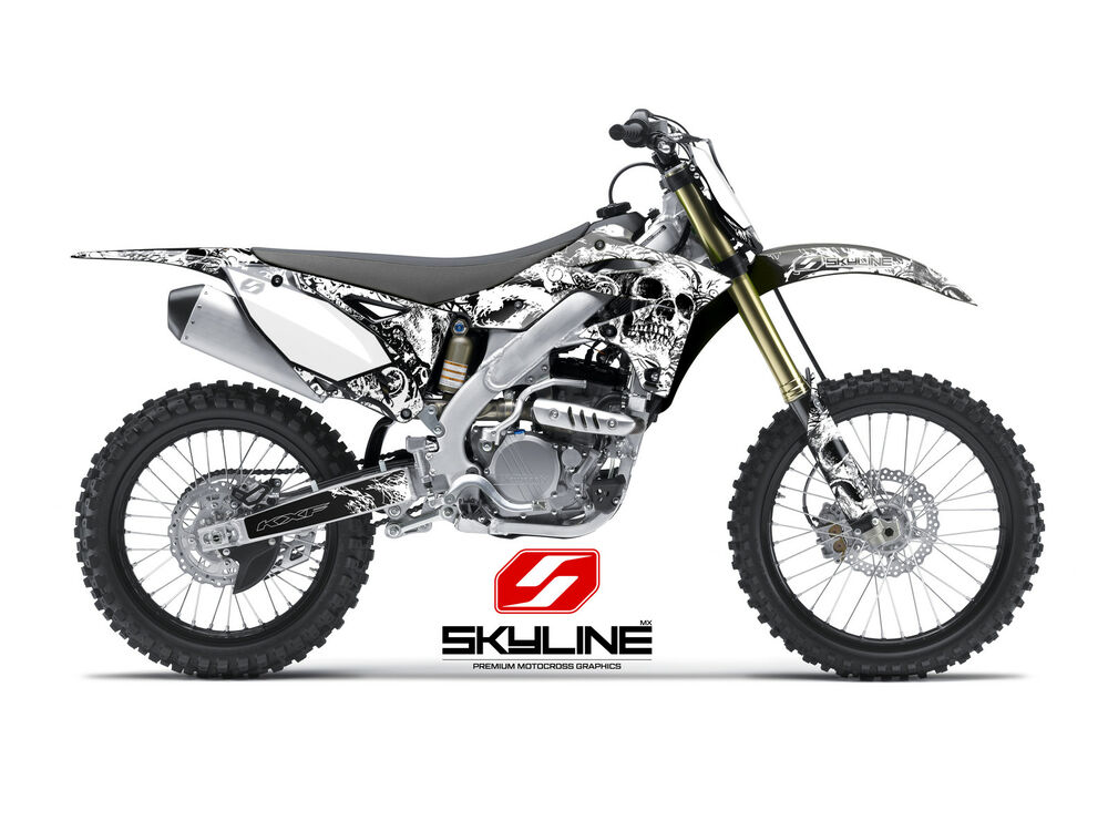 2004 2005 kxf 250 graphics kawasaki kx250f kx250f deco bonecrusher decal kit ebay