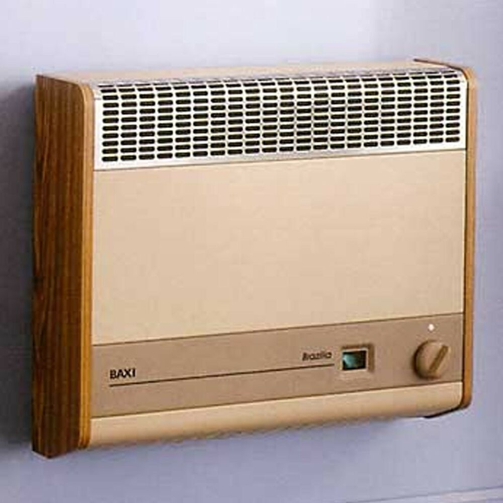 Baxi Brazilia F 8s Wall Hung Gas Fired Heater Available