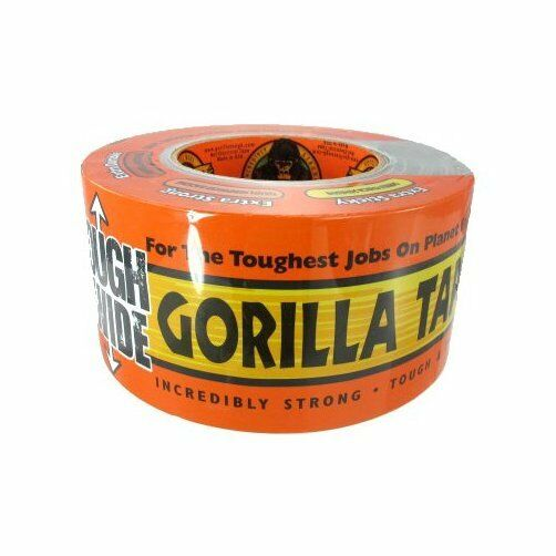 3 Quot X 30 Yard Black Double Thick Adhesive Gorilla Tape Ebay