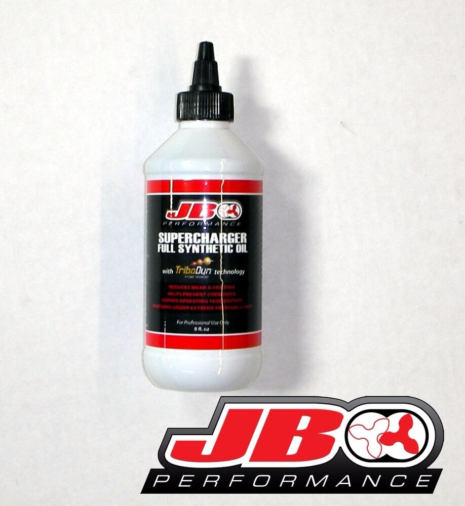 Roots Or Centrifugal Supercharger: JB Performance Twin Screw Supercharger Oil 8oz- Kenne Bell