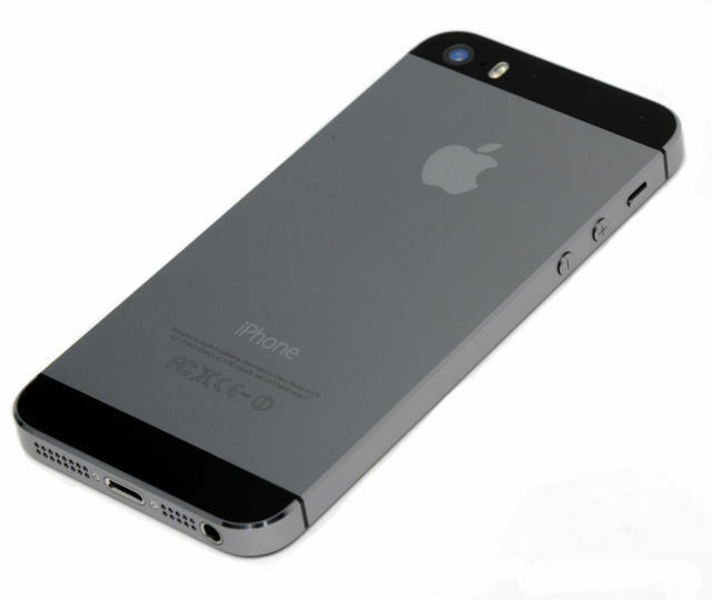 new iphone 5s replacement metal back rear housing battery. Black Bedroom Furniture Sets. Home Design Ideas