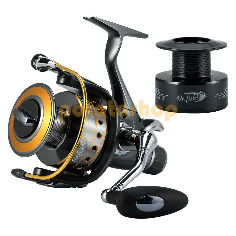 10 1 bb saltwater spinning reel baitfeeder high capacity for Bass pro fishing reels