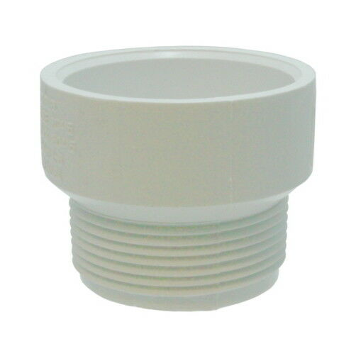 Quot male pvc pipe thread adapter ebay