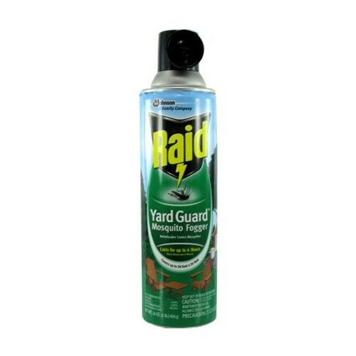 mosquito killer for yard 16 oz raid yard guard mosquito fogger ebay 7875