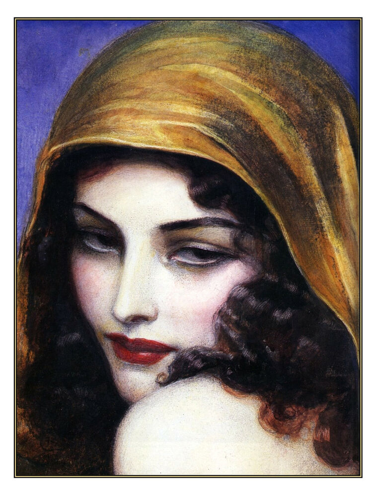 This women in hoods paintings consider, that