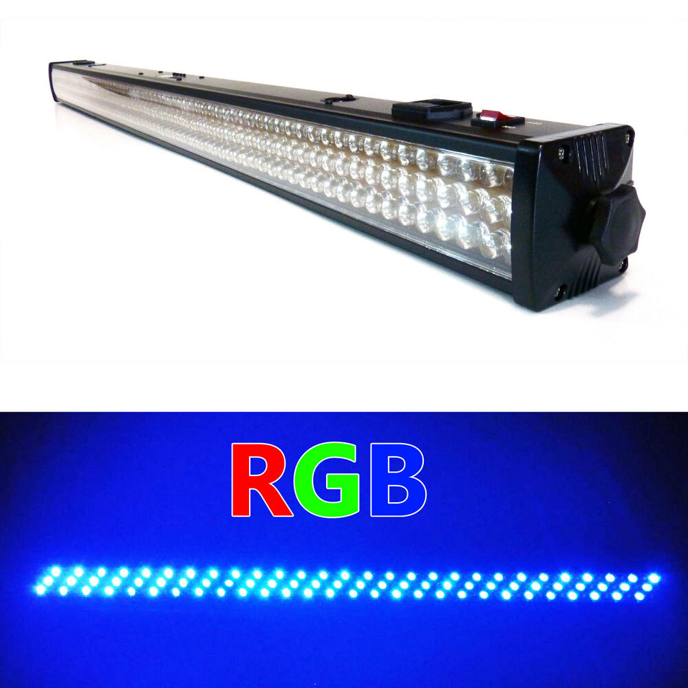 Led Wall Dj Light: GENSSI RGB 216 LED DMX Wall Washer Lighting Bar LED Stage