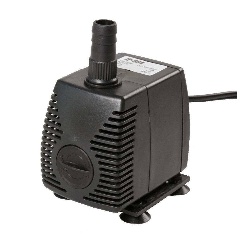 420 gph submersible pump aquarium fish tank powerhead for Fish water pump