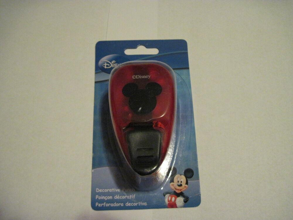 mickey mouse paper punch Mickey mouse icon disney paper shapers medium punch by ek success   55 inch - 30 mickey mouse die cut - black - party decor, scrapbooking, gift tags, .