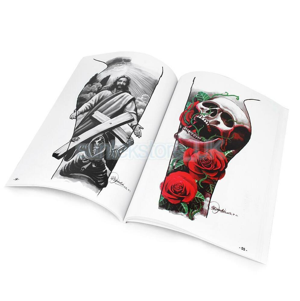 Tattoo reference book sketch picture instruction script for Tattoo reference books