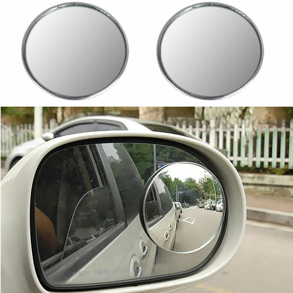 3 inch car blind spot rearview mirrors rearview wide angle. Black Bedroom Furniture Sets. Home Design Ideas