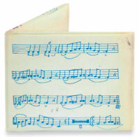 TYVEK Music Sheet Design Mighty Wallet By Dynomighty