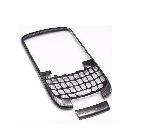 New oem blackberry curve 3g 9300 black front faceplate for Housse blackberry curve 9300