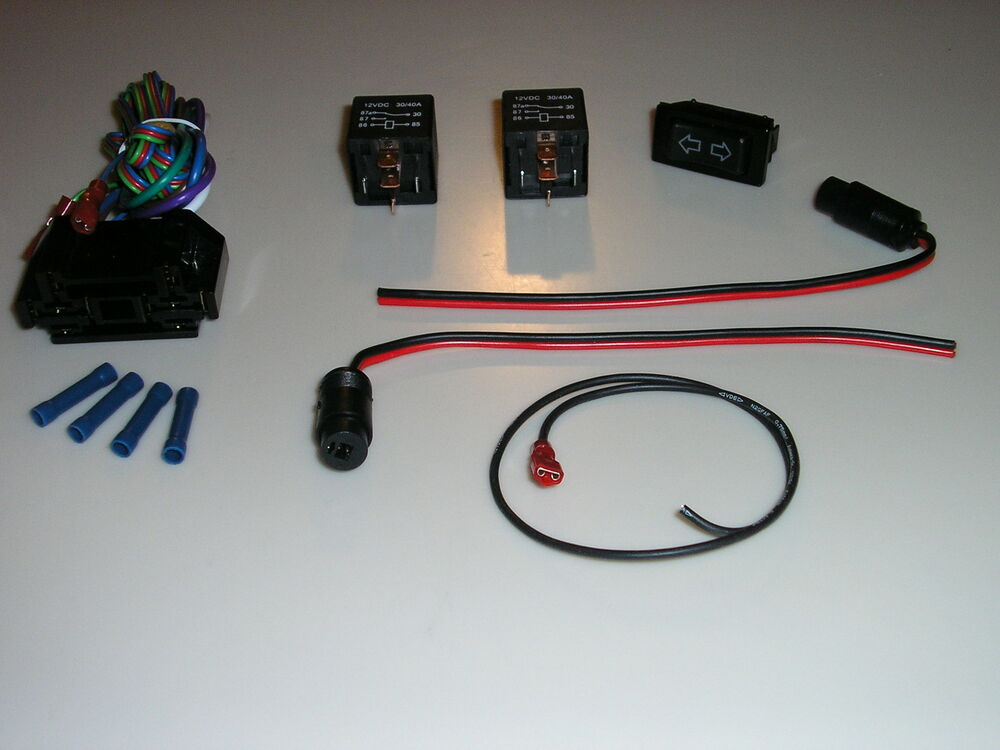 Wiring Kits For Street Rods : Linear actuator switch relay wiring harness kit street rod