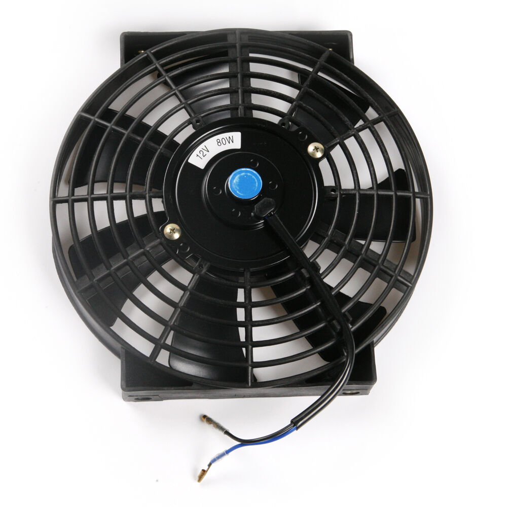 12v Cooling Fan : Quot black car air conditioning v w electric power