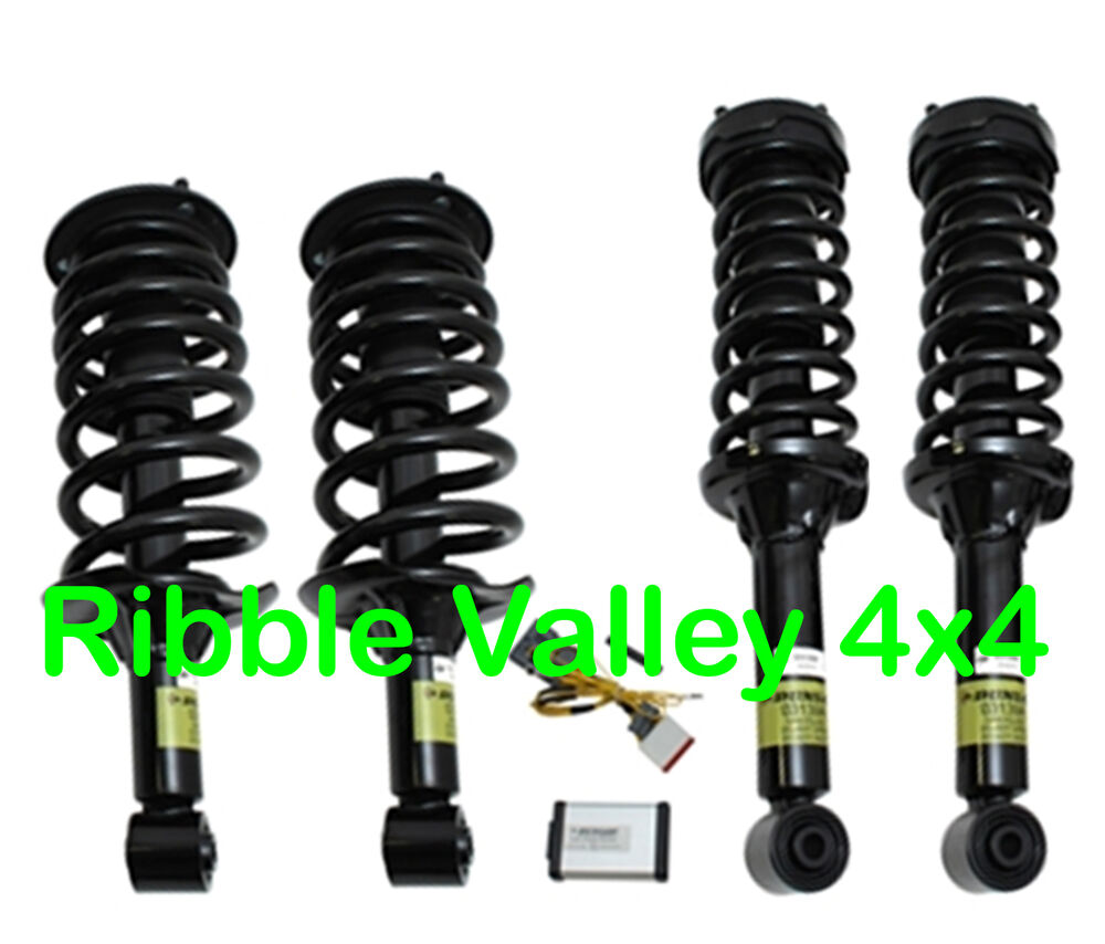 Land Rover Discovery 3 Dunlop Air Bag Suspension To Coil
