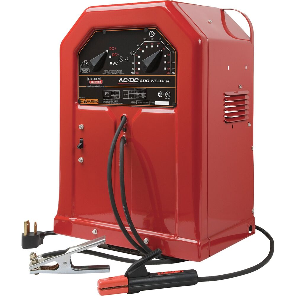 lincoln electric ac/dc 225/125 arc welder-40-225 amp # ... lincoln ac 225 wiring diagram lincoln ac 225 dc welder wiring diagram #11