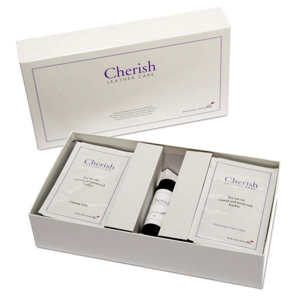 Dfs Official Cherish Leather Sofa Cleaner Care Kit With