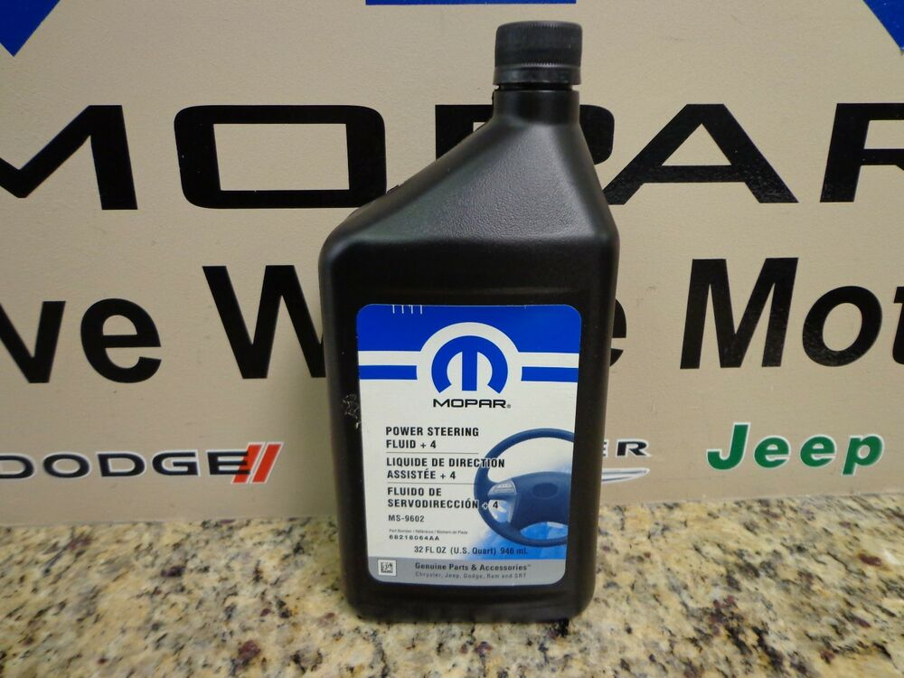 Chrysler Dodge Jeep New Power Steering Fluid 4 Mopar