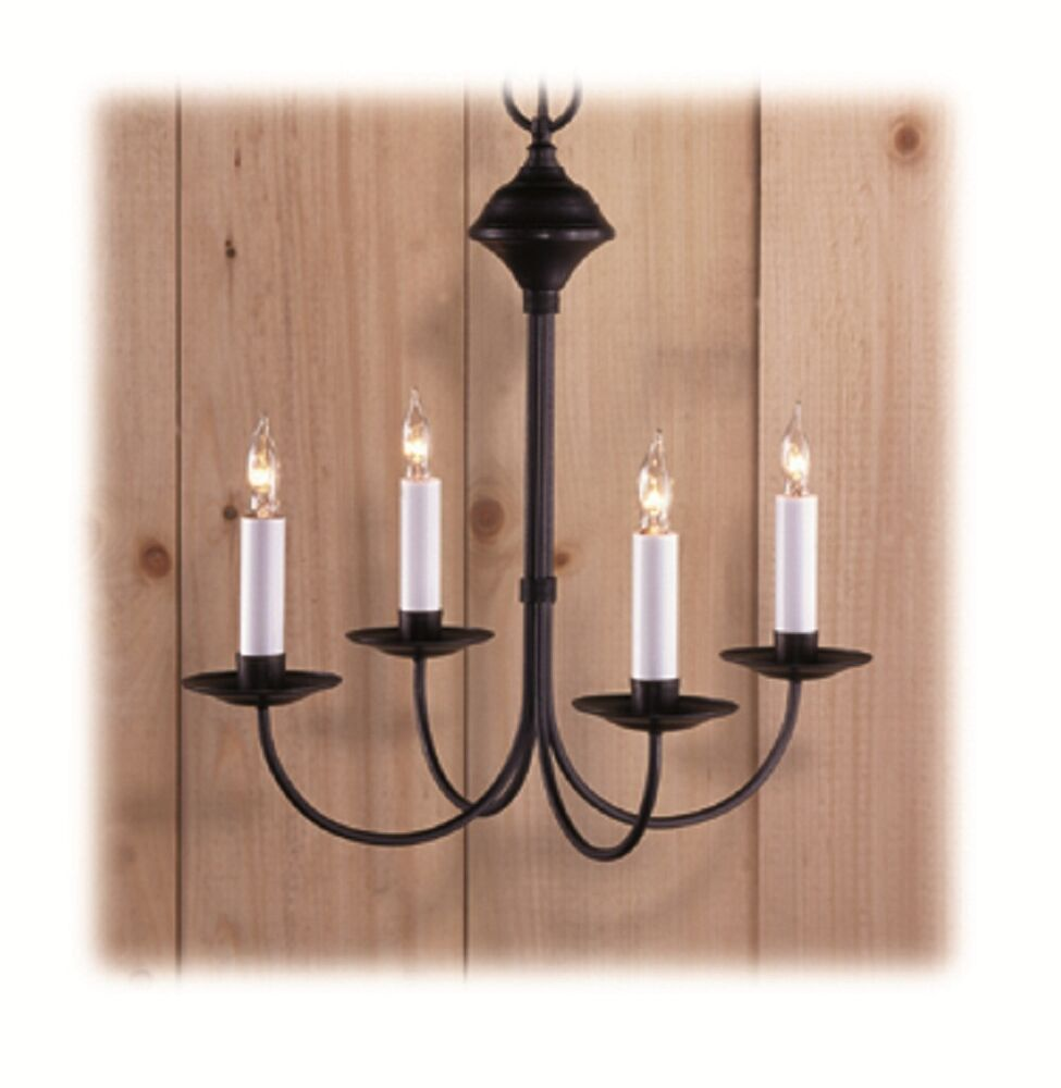 Colonial Primitive Country Lighting Wrought Iron Style