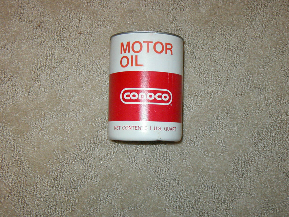 Conoco Motor Oil 20w 20 Can Ebay