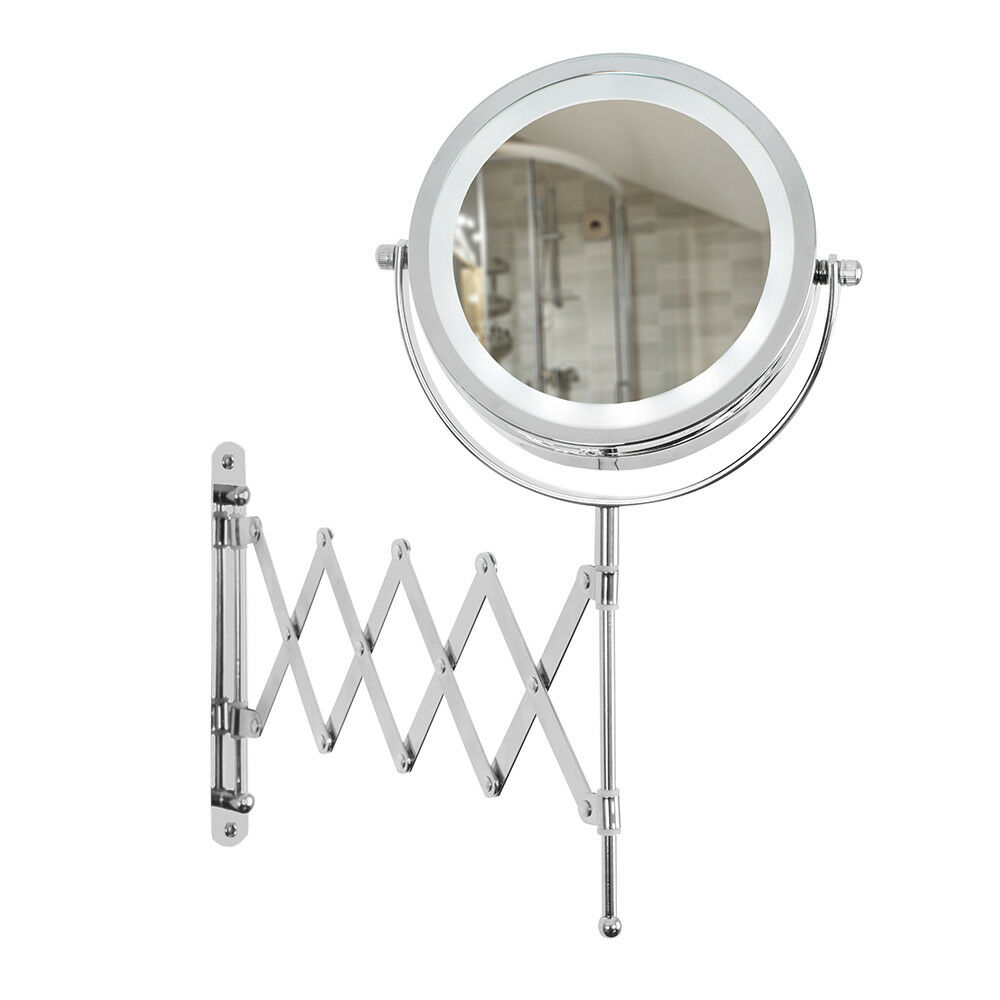 battery led bathroom cosmetic shaving vanity mirror light ebay