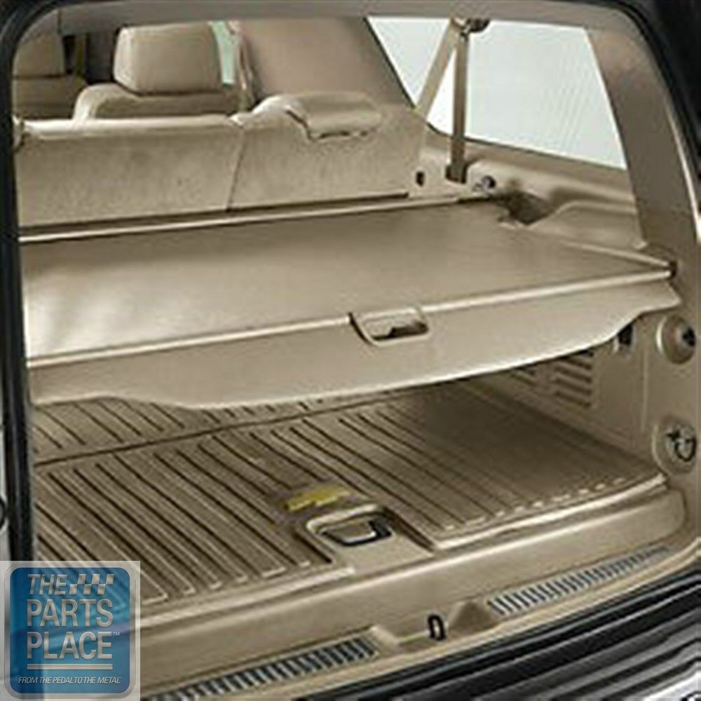 2015 Tahoe Cargo Security Shade Cover Dune Vinyl