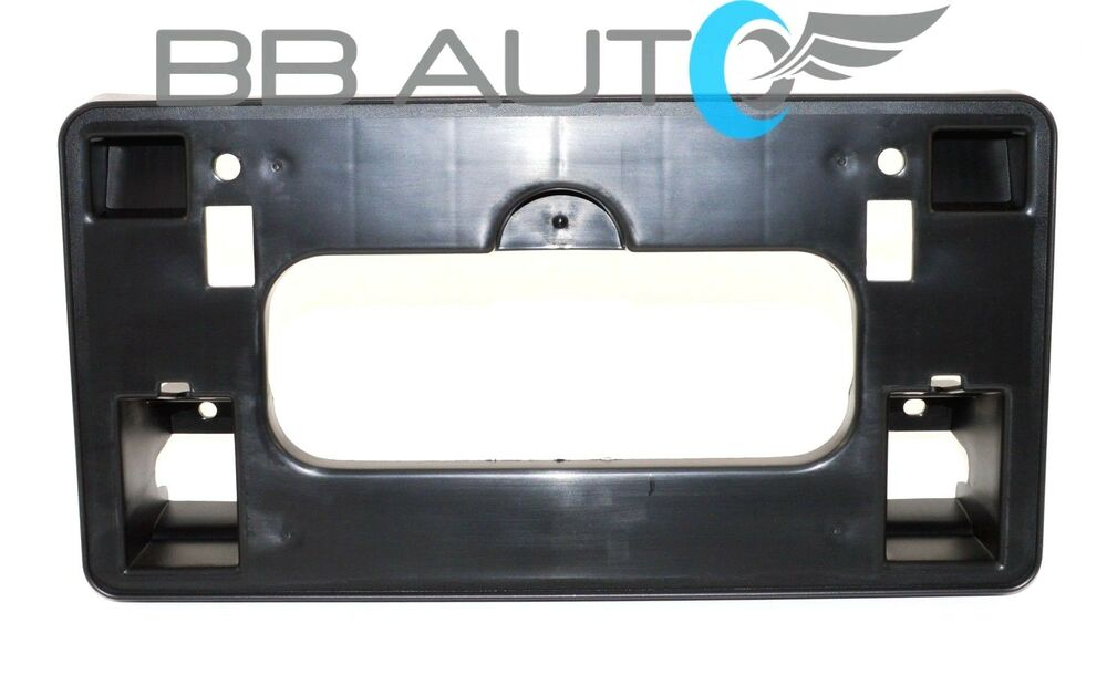 06 08 honda civic sedan front license plate bracket holder. Black Bedroom Furniture Sets. Home Design Ideas
